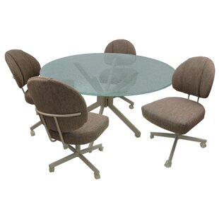 Goudeau Caster 5 Piece Dining Set Read Reviews