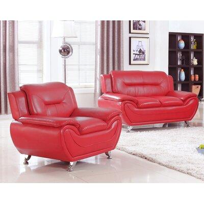 Orren Ellis Normanson 2 Piece Living Room Set | Wayfair