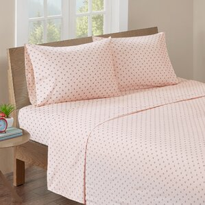 aspen printed cotton sheet set
