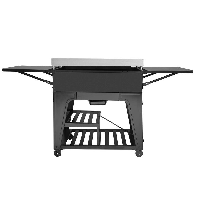 Royal Gourmet Cooking Station 4 Burner Liquid Propane Gas Grill With