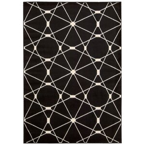 Black Area Rugs wade logan area rugs you'll love | wayfair