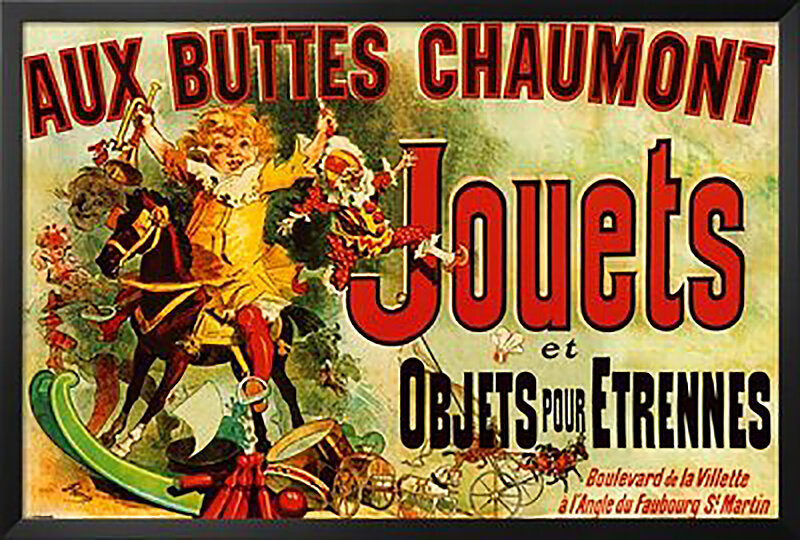 Jouets poster Seen on Friends Toys and Objects New Years Gift Dorm Decor New