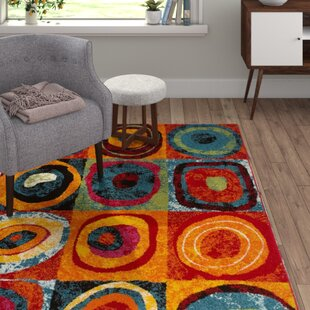 Candy Rainbow Area Rug by Lalee