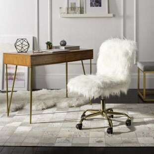 Awesome Desk Chair With Gold Base Wayfair Ibusinesslaw Wood Chair Design Ideas Ibusinesslaworg