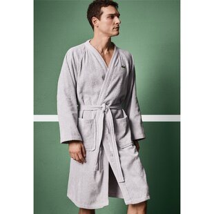 Classic Pique Cotton Terry Cloth Bathrobe d2d3ed241