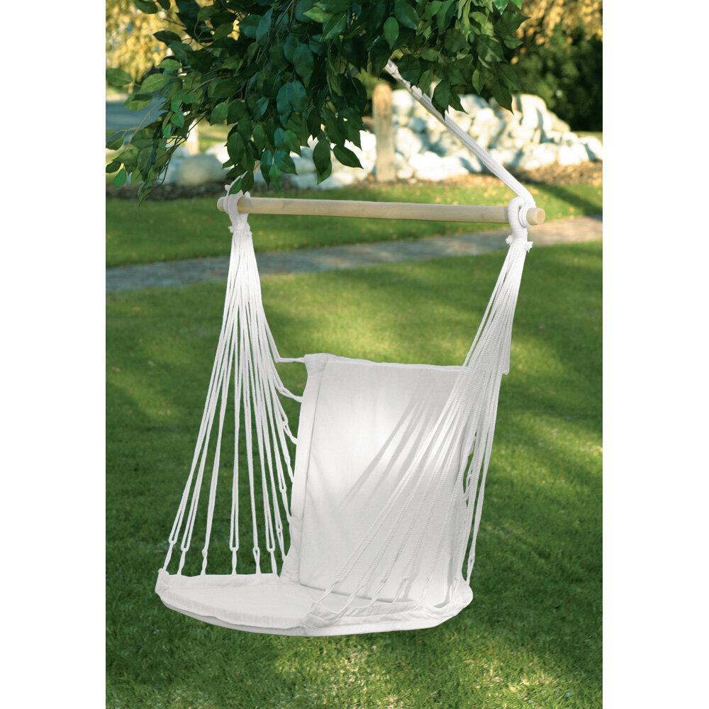 Alvarado woven cotton chair hammock