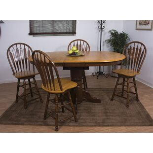 Aloysius 5 Piece Pub Table Set