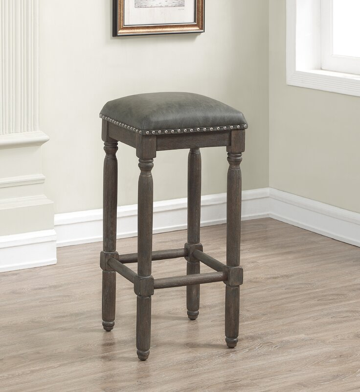 Backless Leather Counter Stools Part - 28: Default_name
