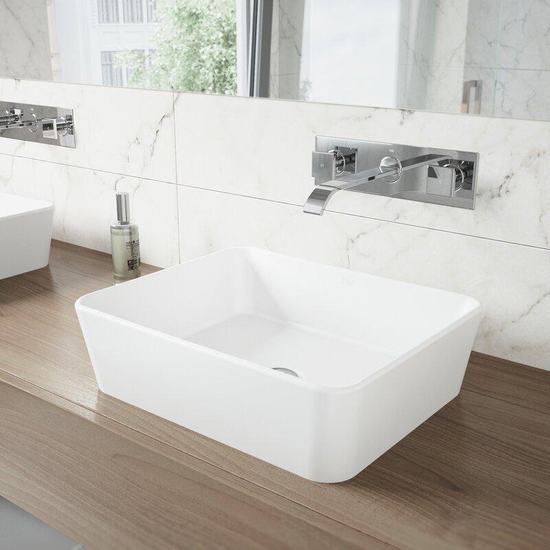 Vigo Us Wall Mount Bathroom Faucet Reviews Wayfair