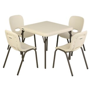 Children's 5 Piece Table And Chair Set by Lifetime