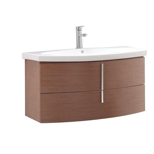 """avanity siena 36"""" single wall mounted bathroom vanity set"""