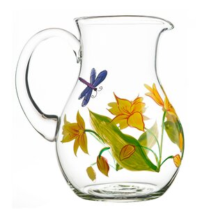 Lillies 72 Oz. Pitcher