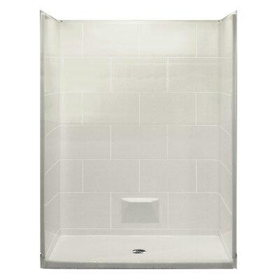 walk in shower kit wayfair. Black Bedroom Furniture Sets. Home Design Ideas