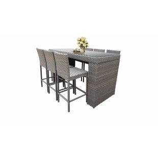 73d2f9e697 Modern Wicker/Rattan Outdoor Dining Sets | AllModern