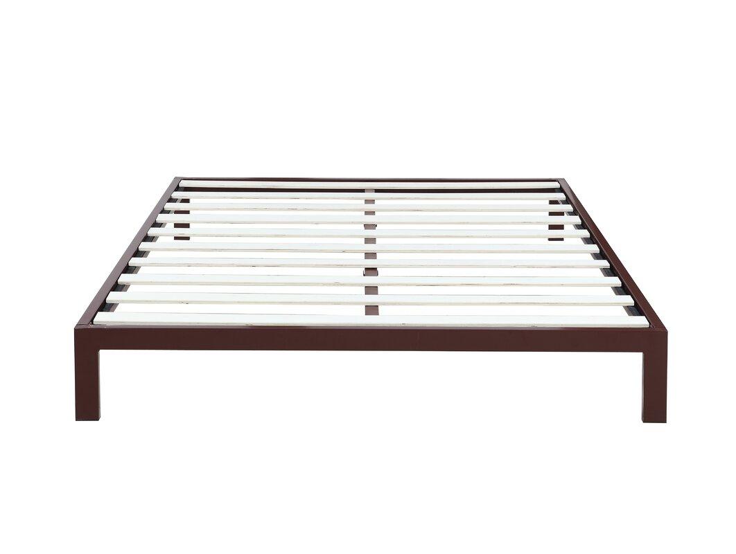 Madison Home USA Modern Metal Platform Bed Frame & Reviews