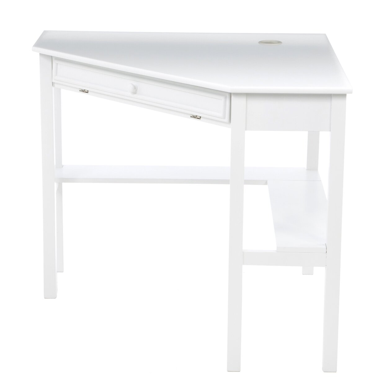 Red Barrel Studio Levin Corner Writing Desk Reviews Wayfair