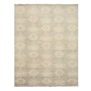 Palani Hand-Knotted Gray Area Rug