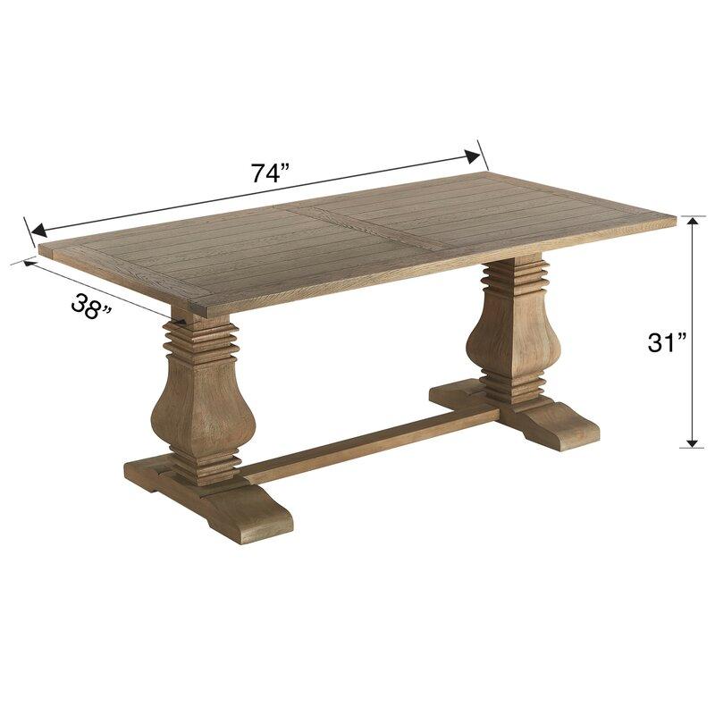Hetzel Pedestal Dining Table