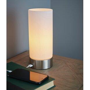 Dara USB 24cm Table Lamp
