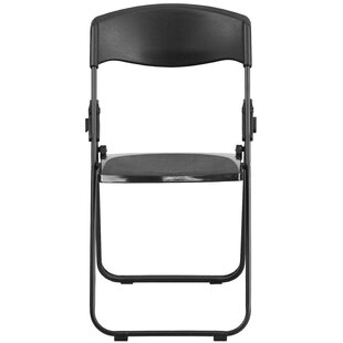 Laduke Heavy Duty Plastic Folding Chair
