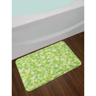 Lime Green Bath Rug