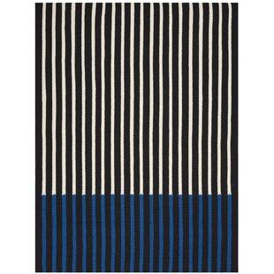Nashville Handwoven Black Rug by Calvin Klein
