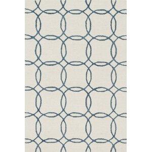 Panache Hand-Tufted Ivory/Blue Area Rug