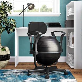 exercise ball desk chairs wayfair rh wayfair com ball desk chair amazon ball desk chairs ergonomic