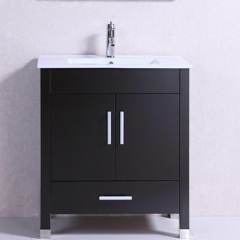 freestanding bathroom vanity. Modern Freestanding 30\ Bathroom Vanity D