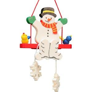 Christian Ulbricht Smowman Swing Ornament