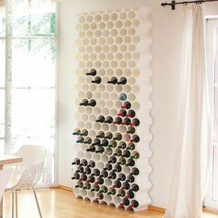 8 Bottle Floor Wine Rack