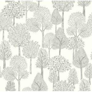 "Baby & Kids Treetops 33' x 20.5"" Wallpaper Roll"