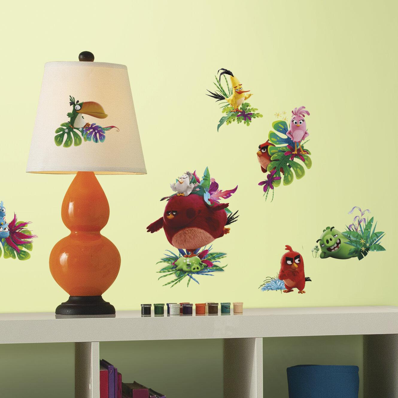 Room Mates Rovio Entertainment Angry Birds the Movie Peel and Stick ...