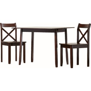 Red Barrel Studio Stumptown Ales 3 Piece Dining Set