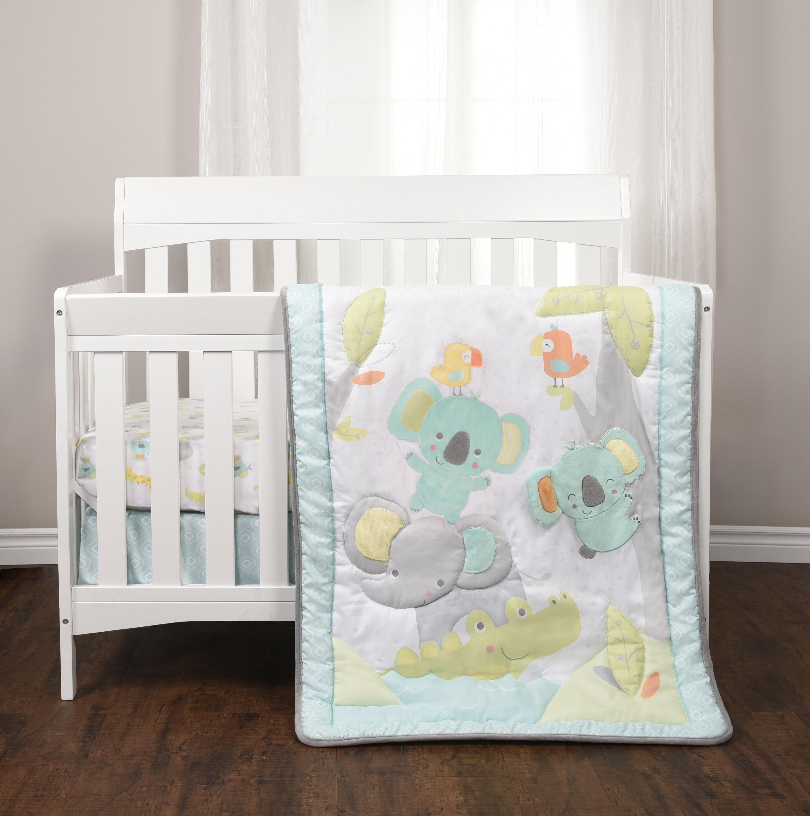 a7564b0798dd Harriet Bee Ashendon 3 Piece Crib Bedding Set
