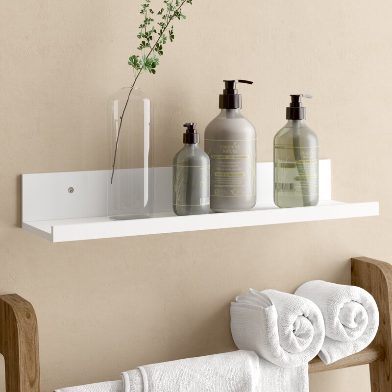 Wall Shelf With Ledge
