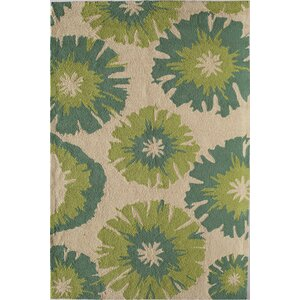Light Green Indoor/Outdoor Area Rug