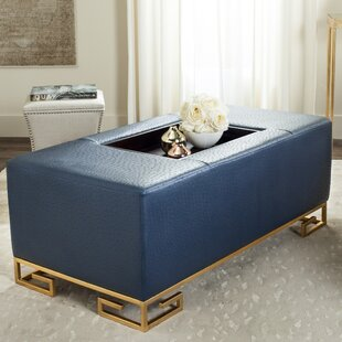 fabulous leather with incredible storage tray contemporary ottomans ottoman square