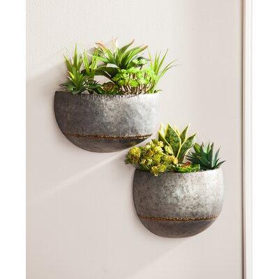 wall planters vertical gardens you 39 ll love wayfair. Black Bedroom Furniture Sets. Home Design Ideas