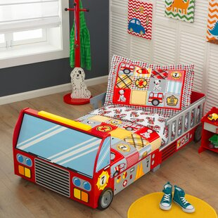 Fire Truck Toddler Bed by KidKraft