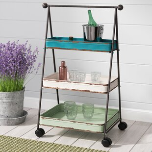 Kerri 3 Tier Bar Cart