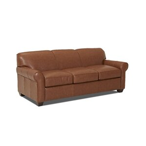 Jennifer Leather Sofa by W..