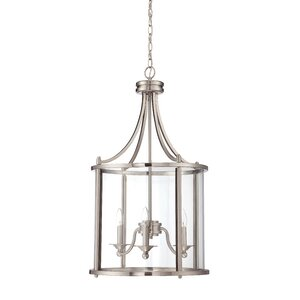 Arshan 3-Light Foyer Pendant