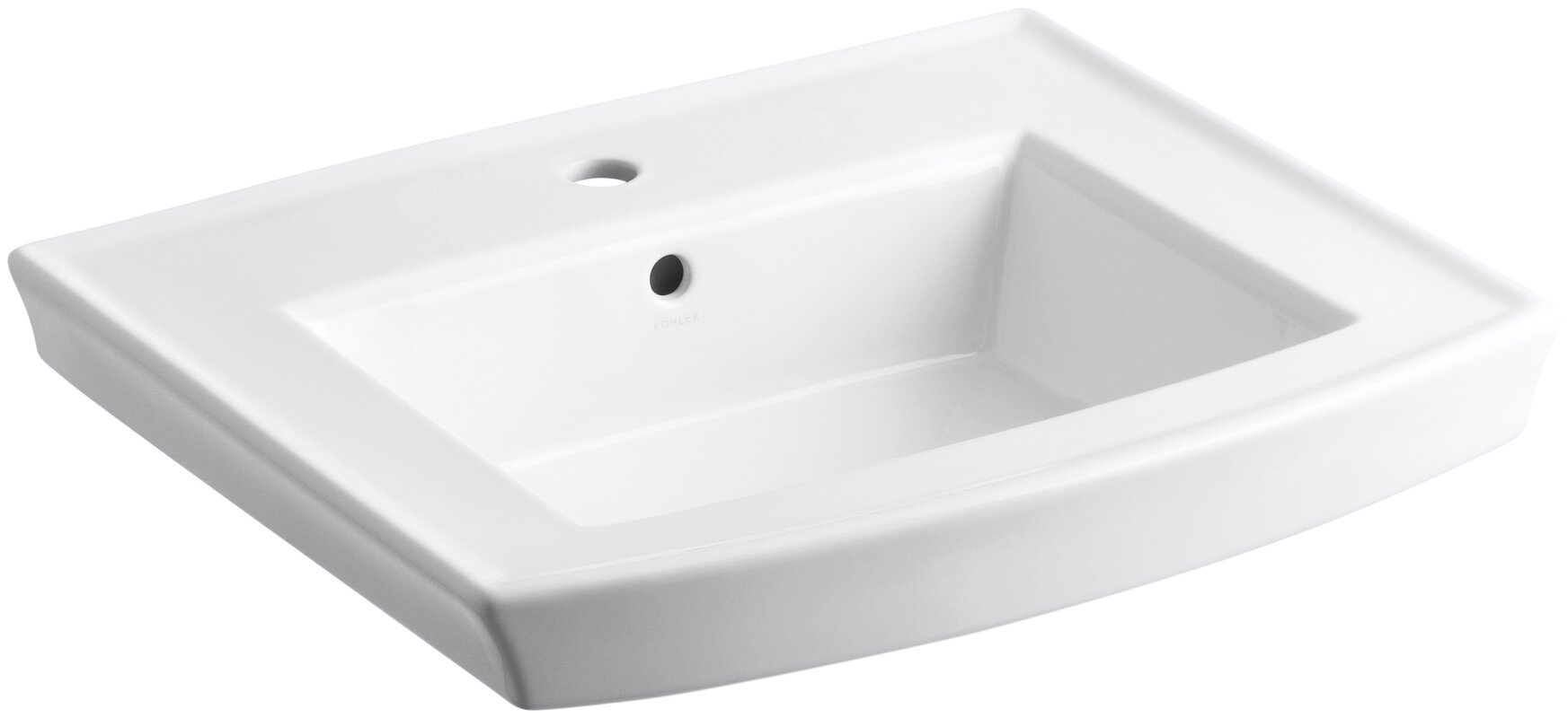 bathroom town standard sinks b sink inch pedestal white american square