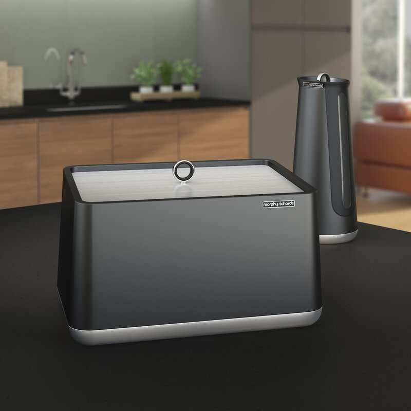 morphy richards aspect bread bin reviews. Black Bedroom Furniture Sets. Home Design Ideas