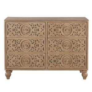 Haveli 6 Drawer Dresser by World Interiors