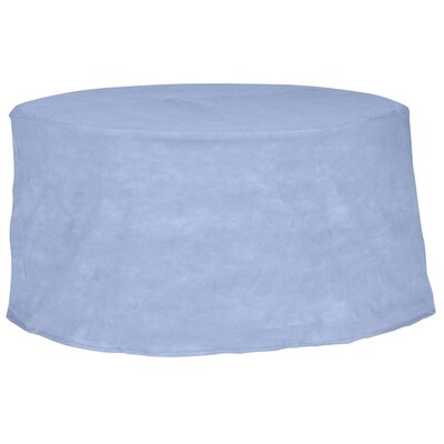 Freeport Park Aaden Round Patio Table Cover Color: Blue, Size: 72 W x 72 D