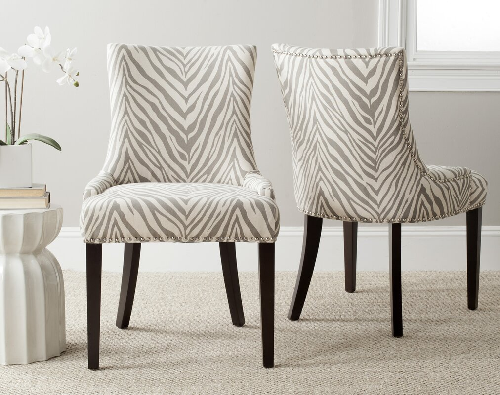 Striped Accent Chairs You\'ll Love   Wayfair