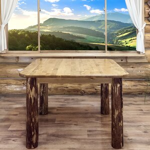 Tustin 4 Post Square Dining Table by Loon Peak