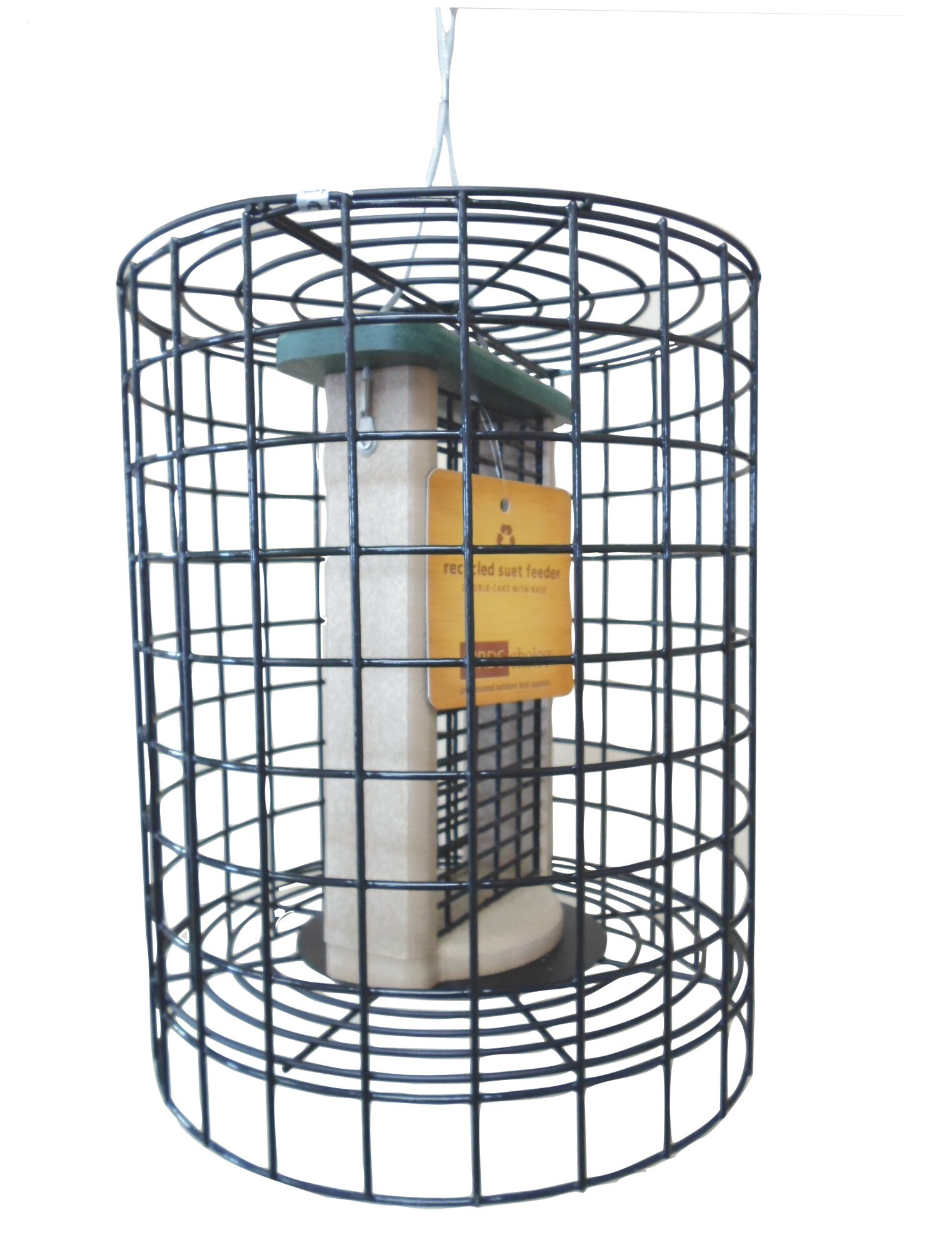 Birds Choice Choice Clever Clean Tube Bird Feeder with Wire Cage ...